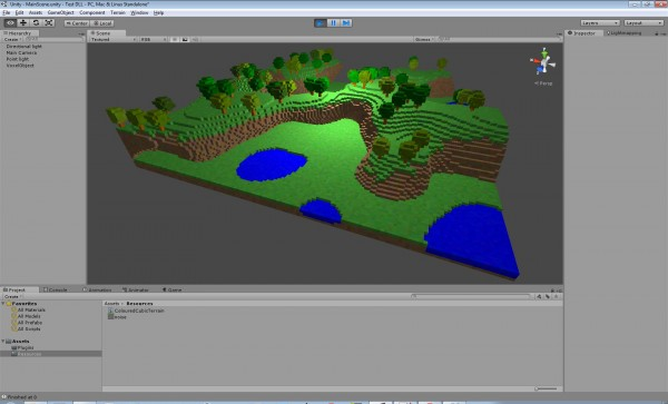 Unity3D Cubiquity integration